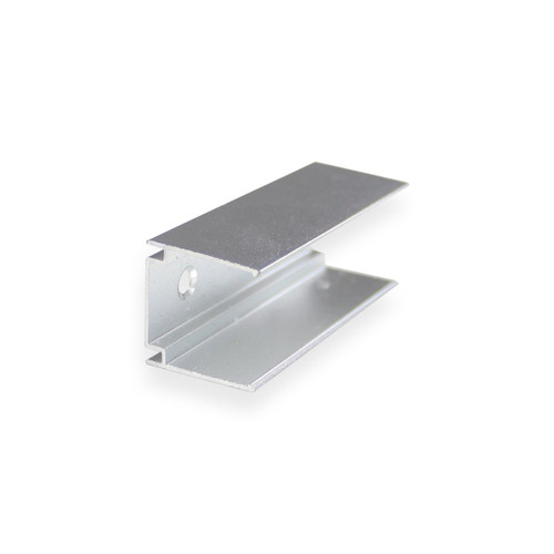 Side View LED Neon Flex Aluminium Track Mounting Bracket - 5cm lengths