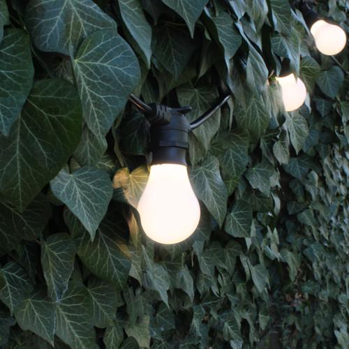 50 metre, 50 GLS Lamp Festoon String, 1000mm Spacing with 50 bulbs, B22, Warm White4