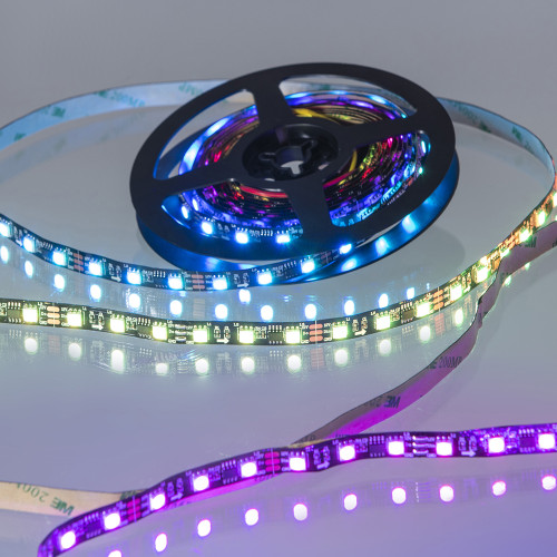 Pro Bright 18w/12v DIGITAL LED Tape RGB + WW 3000K 5m reel
