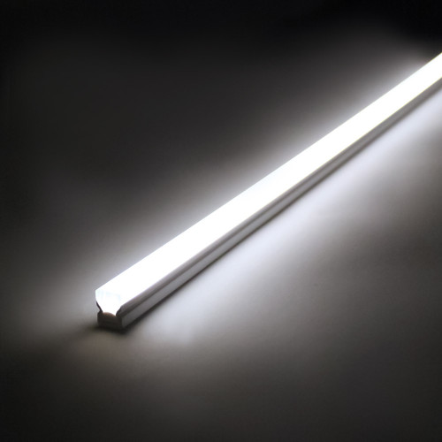 Pack of 5 500mm LED Light bars with driver and 7 way splitter. 2m cable. IP54. 4000k Natural White