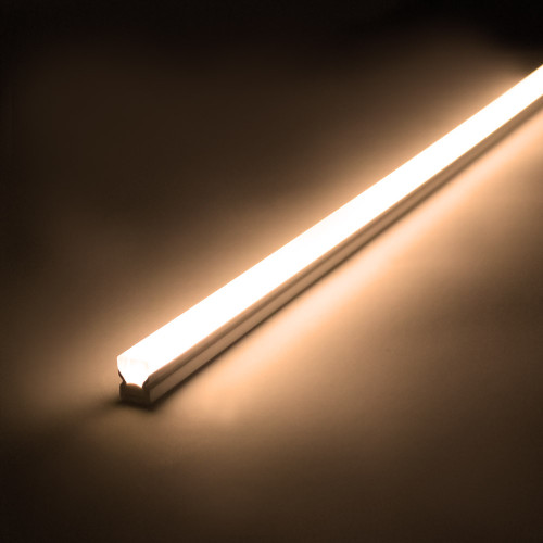 Pack of 3 500mm LED Light bars with driver and 7 way splitter. 2m cable. IP54. 3000K Warm White