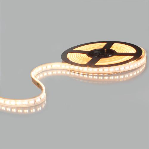 Dim to Warm LED Tape 5 Metre Reel, 24 Volts, 26 Watts p/m, 1800K - 3000K, IP65
