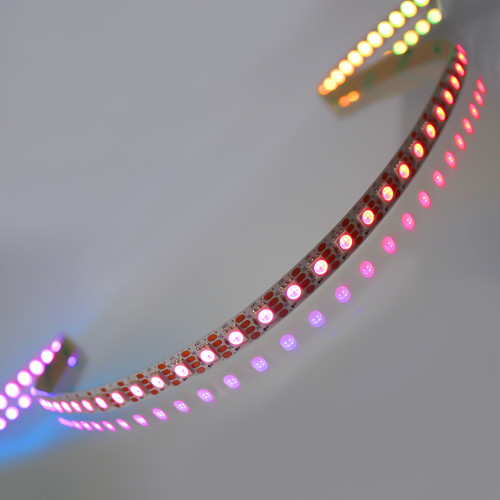 12V Pro Bright Digitally Addressable LED Tape, RGB, 96 Pixels p/m, IP20 (Sold per Metre)