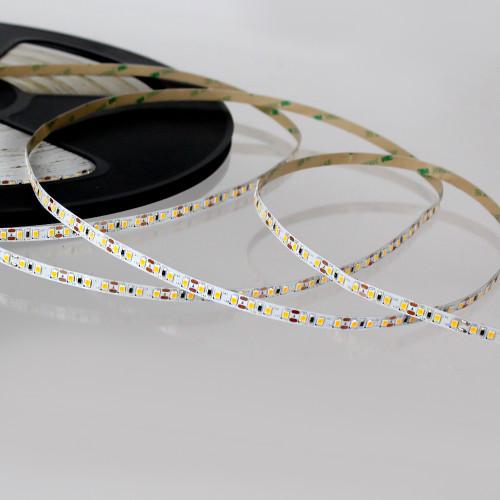 Easy to Use 12V 120 LEDs 9.6w p/m LED Tape, Cool White 6000K IP20 (50m Drum)