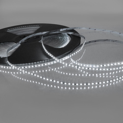 24V Bright Plus LED Tape, Cool White 6000K, 120 LEDs p/m, IP20 (50m Drum)