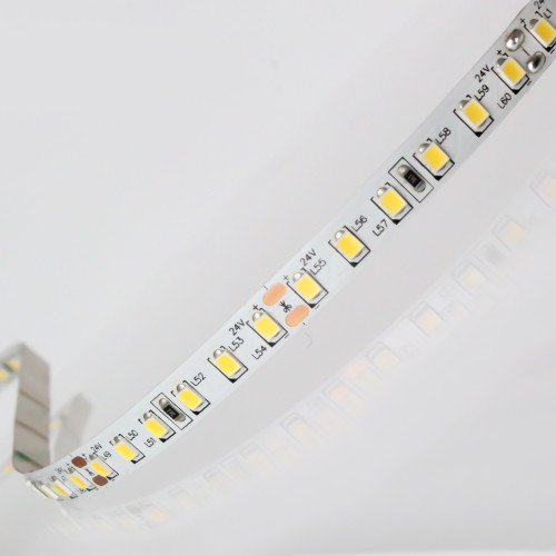 Easy to Use 12V 120 LEDs 9.6w p/m LED Tape, Warm White 3000K IP20 (Sold per Metre)