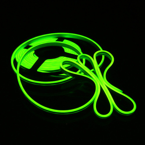Easy to Use Top View Micro LED Neon Flex 4x10mm, Green, 5m Kit