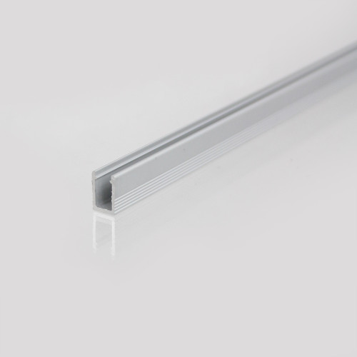 Aluminium Profile for Top View Mirco LED Neon Flex 4x10mm, 1 Metre Length
