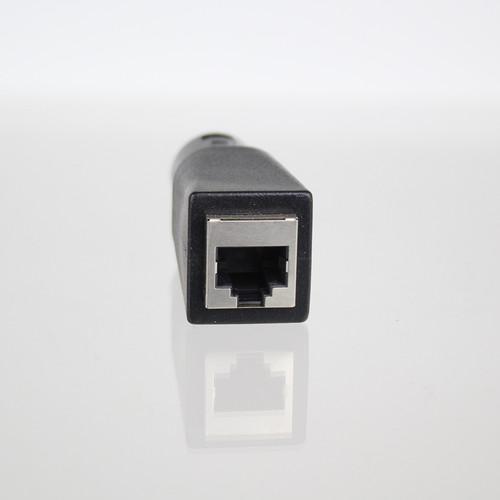 RJ45 Female to 5 pin Male XLR Converter
