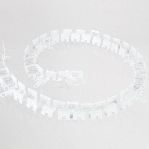 Pack of 2 Moldable Aluminium Channels for Top View 12x17mm Neon Flex, 500mm