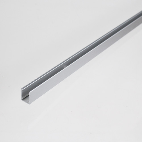 Aluminium Channel Mounting Track for Side View 13x12mm Neon Flex, 1 Metre