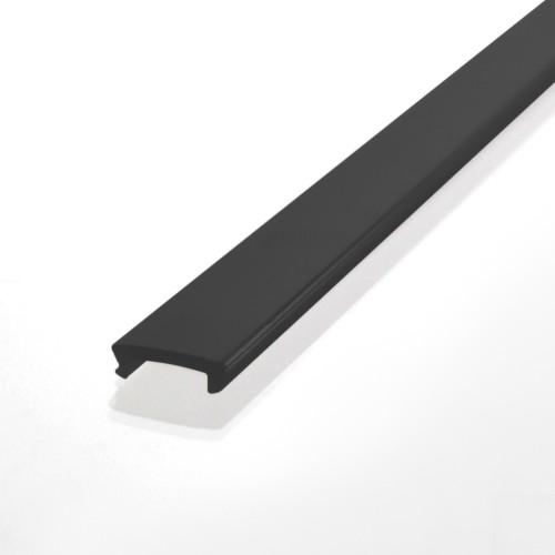 Diffuser for Mini Aluminium Profile, Black, 2m