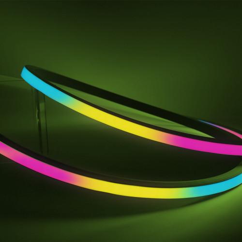 Pro Plus Architectural Side View Professional LED Neon Flex, 16mm x 17mm, Pixel Digitally Addressable