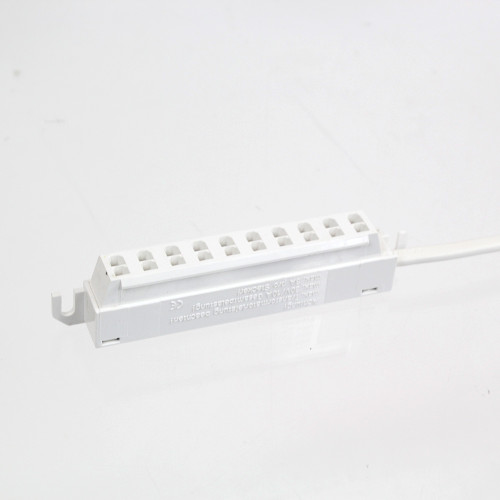 Multi Connector 10 Port 7 Amp White with Tinned Ends