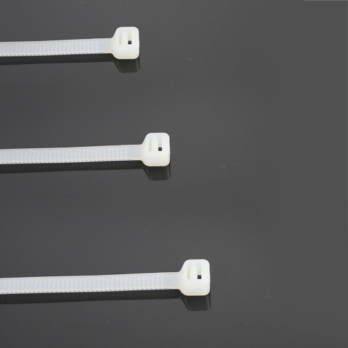 Pack of 50 4.8x200mm Nylon Natural Cable Ties