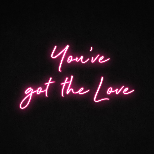 You've Got the Love LED Neon Sign