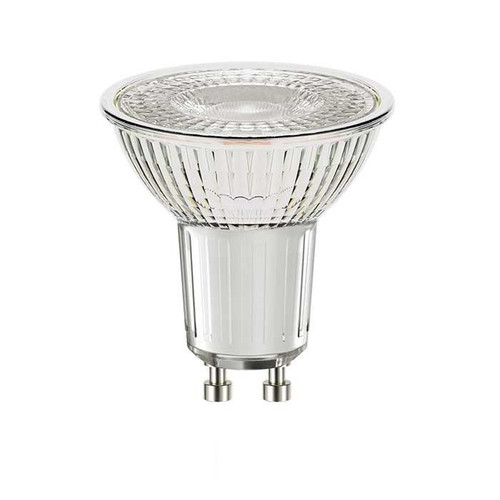 4.6W Glass GU10 LED Spotlight - 375 lumen - Cool White (5000K) - Dimmable