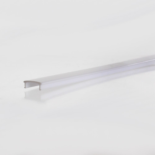 Semi Clear Diffuser for Curved Wide 5208 Aluminium Profile, 2 Metres