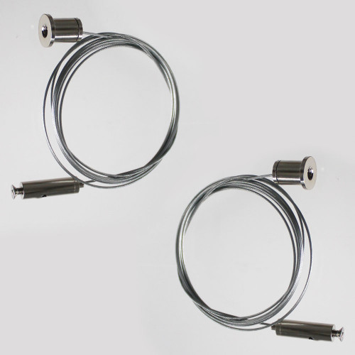 V2 Suspension Cable Pack for LED Aluminium Profile - Pair of 2