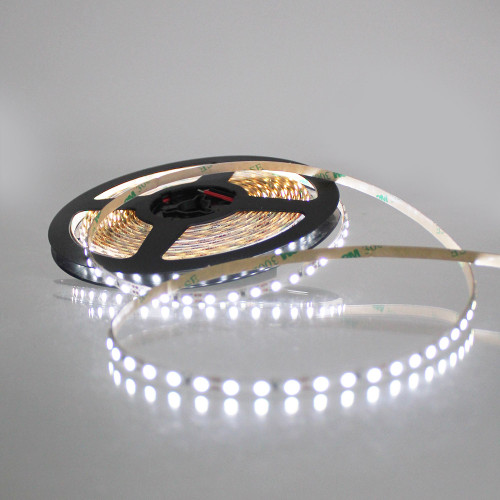 Micro 5mm Width 12v 9.6W 6200K Cool White 120x3528 LED Strip IP20 (5 Metre reel)