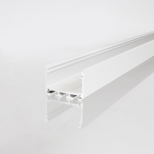 3043 APIS Connectable Suspendable Aluminium Channel, White, 3 Metre Length