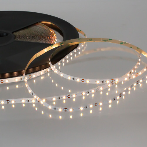 Easy to Use 12V 60 LEDs 4.8w p/m LED Tape, Very Warm White 2700K, IP20 (50m Drum)