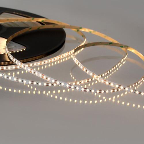 12V Bright Plus LED Tape, Very Warm White 2700K, 120 LEDs p/m, IP20 (50m Drum)