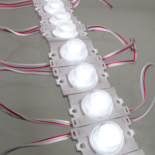 Chain of 20 Narrow Angle 3020 1.2W, 12V, IP67 Modules