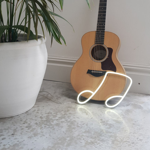 Quaver Music Note LED Neon Sign