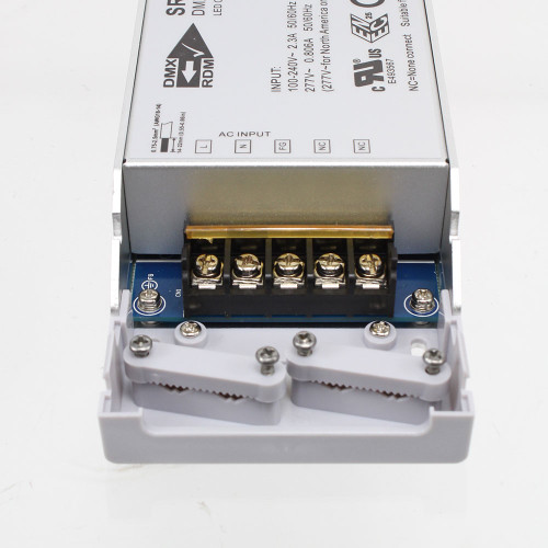 200W Constant Voltage Driver with built in 4 Channel DMX decoder, 24V
