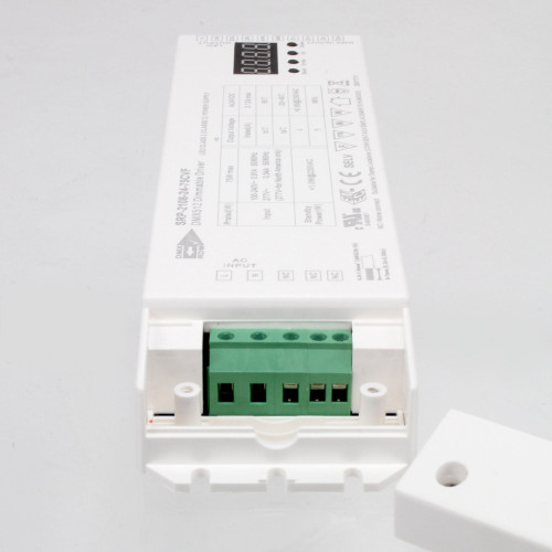 75W Constant Voltage Driver with built in 4 Channel DMX decoder, 24V