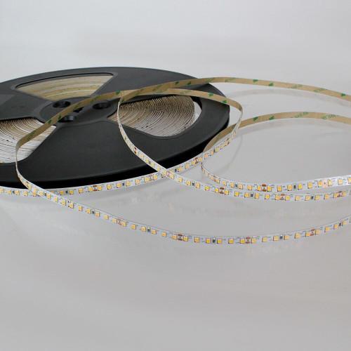 Easy to Use 24V 120 LEDs 9.6w p/m LED Tape, Warm White 3000K IP20 (50m Drum)