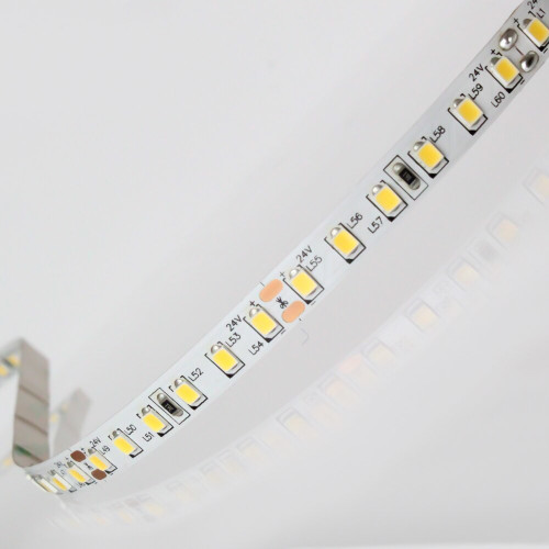 Easy to Use 24V 120 LEDs 9.6w p/m LED Tape, Neutral White 4000K IP20 (Sold per Metre)