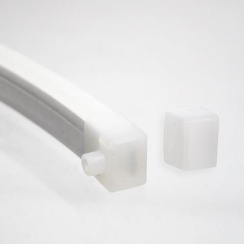 Silicone Endcap Kit for Maxi 12x17 Neon Flex, Left/Right Outlet