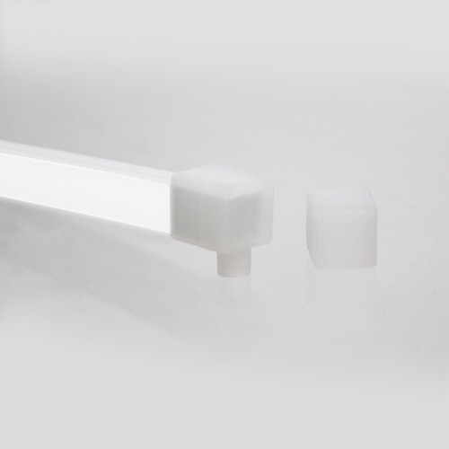 Silicone Endcap Kit for Midi 13x12 Neon Flex, Left/Right Outlet
