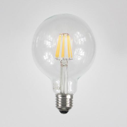 6w G95 Dimmable LED Filament Globe Bulb, E27