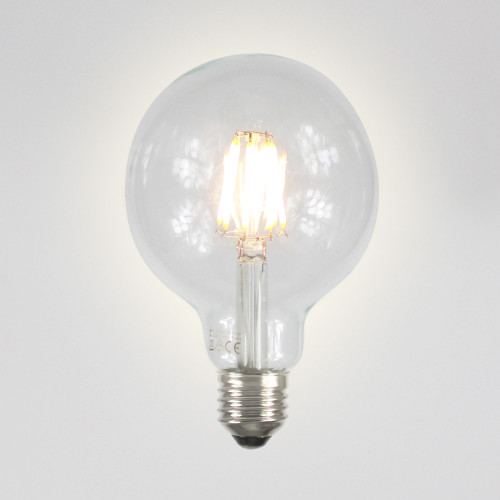 6w G95 Dimmable LED Filament Globe Bulb, E27