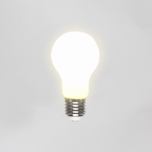 White Opal A60 8W Dimmable LED Bulb, E27