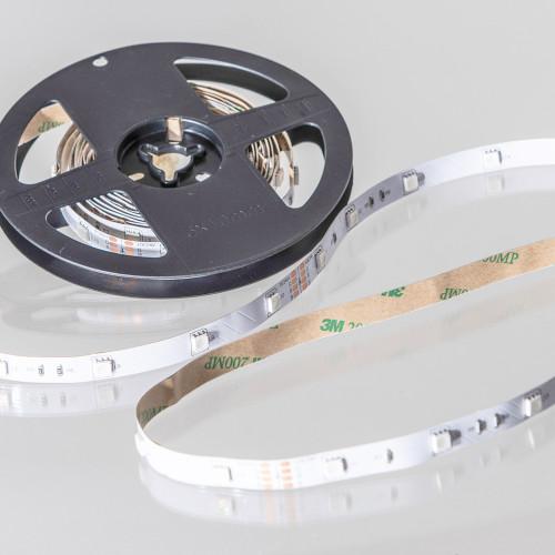 12V Eco Bright LED Tape, RGB Colour Changing, 30 LEDs p/m, IP20 (5m Reel)1