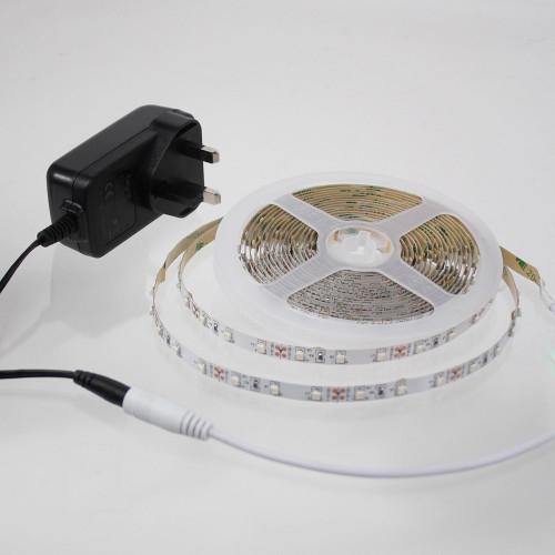5 Metre Plug and Play LED Tape Kit, Amber