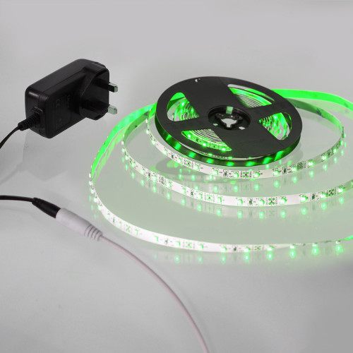 5 Metre Plug and Play LED Tape Kit, Green