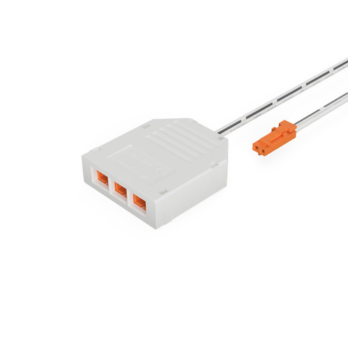 Syndeo Easy to Use 3 Way Splitter Socket for LED Tape and Components, 12V