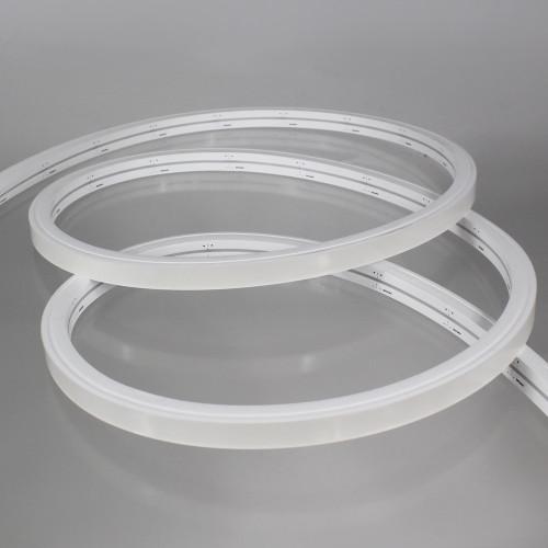 Midi Side View 13x12mm LED Neon Flex, Very Warm White 2700K, 10m Kit