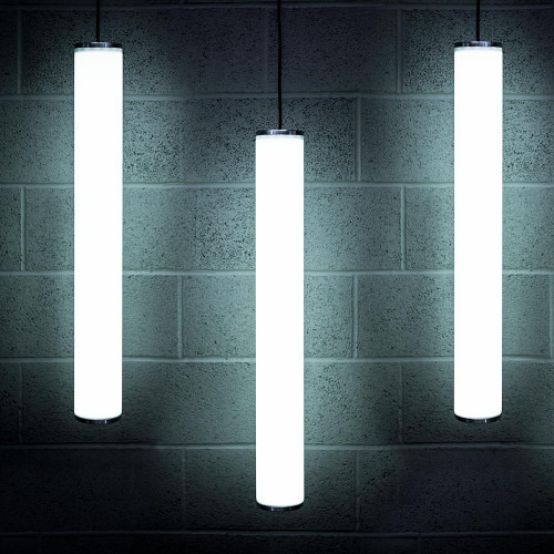 Solinas Wide Architectural Neon Tube Light, White, 24V