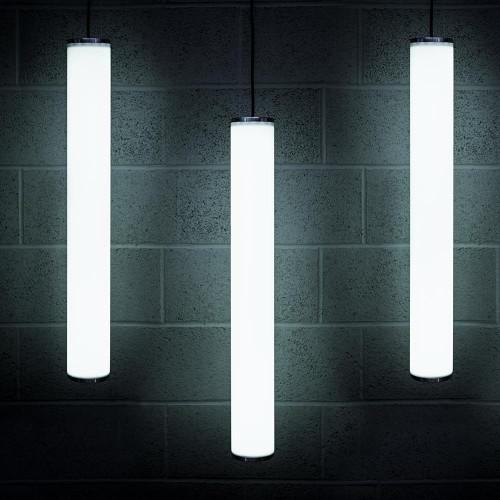 Solinas Wide Architectural Neon Tube Light, White, 24V