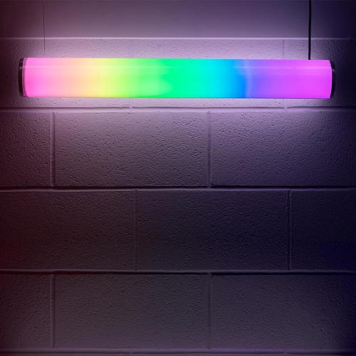 Solinas Wide Horizontal Digitally Addressable Architectural Neon Tube Light, 12V