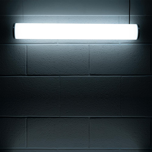 Solinas Wide Horizontal Architectural Neon Tube Light, White, 24V