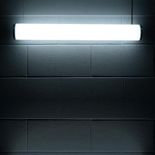Solinas Wide Horizontal Architectural Neon Tube Light, White, 24V