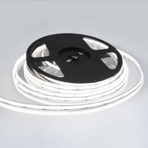 Pro Series Spot Free COB Continuous LED Tape, 24V, 11.2Wp/m 1000LM, 90 CRI, Cool White 6500K, 5M reel