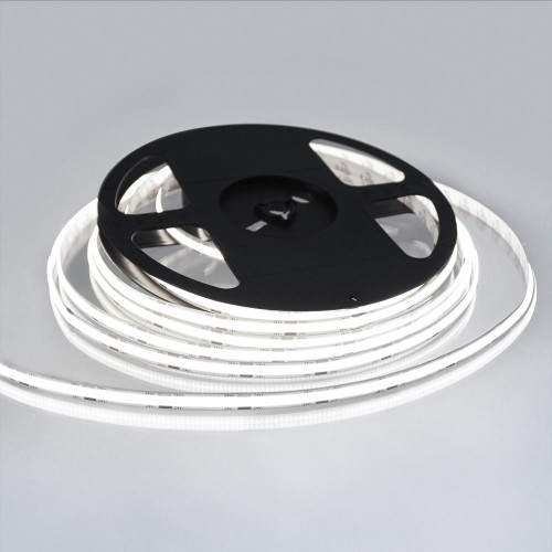 Pro Series Spot Free COB Continuous LED Tape, 24V, 10Wp/m 1000LM, 90 CRI, Cool White 6500K, 5M reel